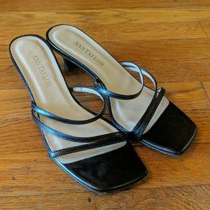 Ann Taylor kitten heel Strappy sandals